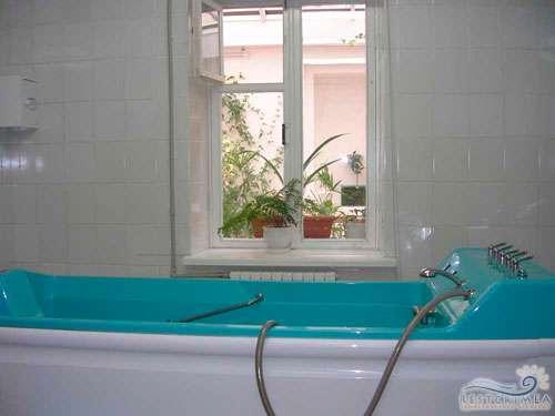 Санаторий Ай-Петри: ванное отделение