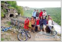 bicycle-walking tour «Not boring rest»