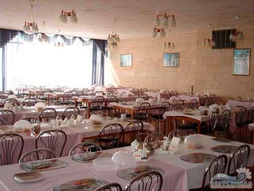 Санаторий Ай-Петри: зал улучшенного питания