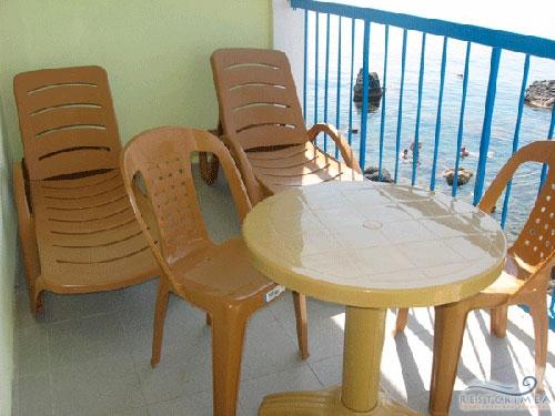 Гостиница Ассоль: балкон в номере