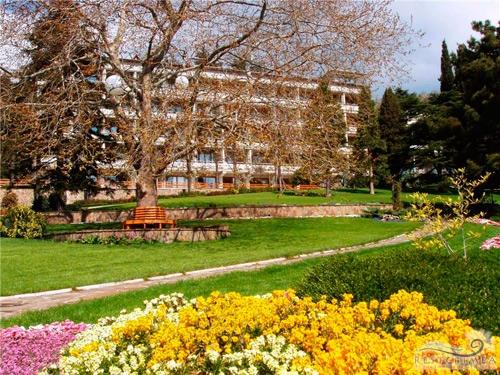 Лечебно-оздоровительный комплекс Айвазовское: парк