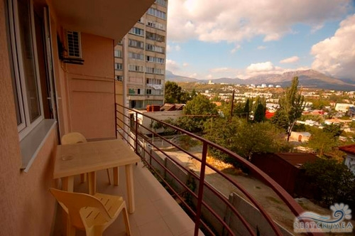 Мини-отель Южный домик: балкон
