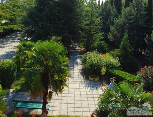 Оздоровительный комплекс Семидворье: парк