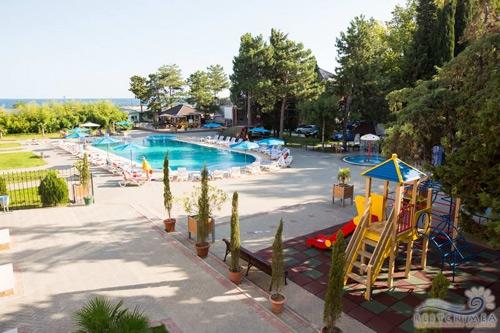 Pension Demerdzhi: playground