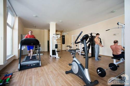 Pension Demerdzhi gym