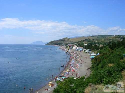 Hotel Edem: beach in Solnechnogorsk