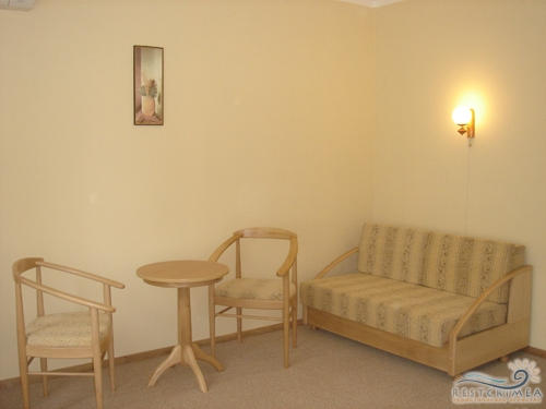 Pension Moscow: a deluxe room