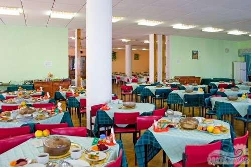 Санаторий Ливадия: столовая