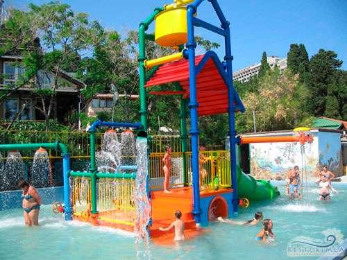 Санаторий Мисхор: детский водный комплекс