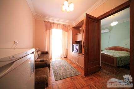 Санаторий Украина: 2-х комнатный номер повышенной комфортности корпус 2