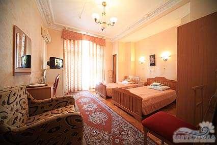 Санаторий Украина: 2-х комнатный номер повышенной комфортности юг корпус 1