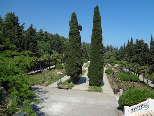 Санаторий Алушта: парк
