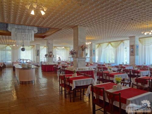 Alushtinsky Sanatorium: dining