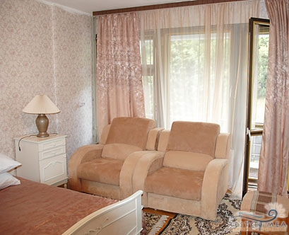 Санаторий Днепр: 2-х комнатный люкс, корпус 5