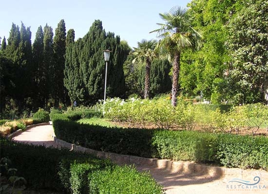 Санаторий Днепр: парк