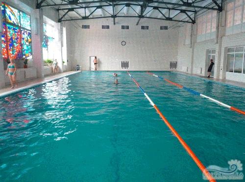 Санаторий Крым: бассейн