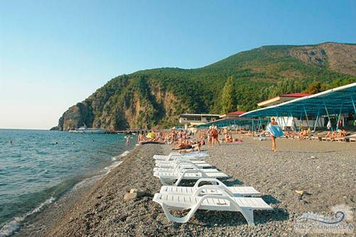 Санаторий Крым: пляж