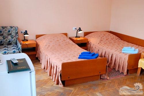 Санаторий Парус: 2-х местный стандартный номер