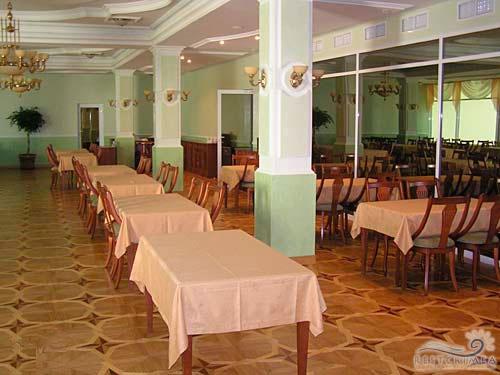 Санаторий Пушкино: столовая