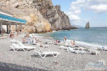 Санаторий Жемчужина пляж