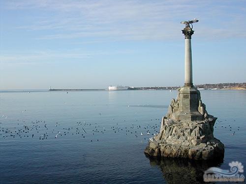 Крымская кругосветка 5 дней. Памятник затопленным кораблям
