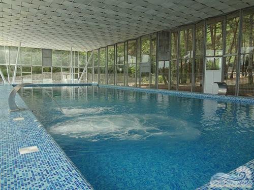 Санаторий Горный: бассейн