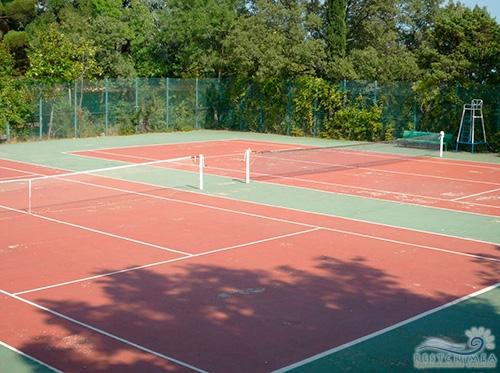 Санаторий Горный: теннисный корт