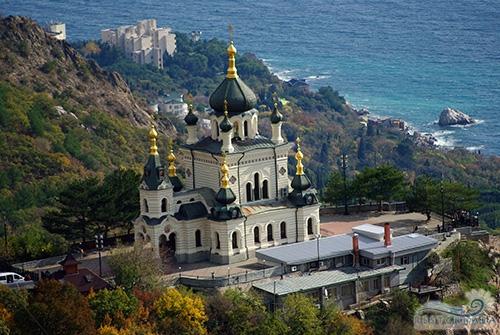 Южный тур Горы-Море. Форосская церковь